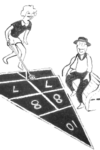shuffleboard fun