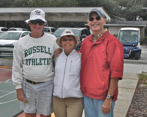 The Amateurs:  Bob Tager, Bonnie Radke and Randy Radke