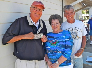 Pro/SA Winners: Darrell Harman, Edna Triplett and Dennis Buelk