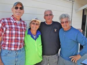 Amateur: Randy Radke, Bonnie Radke, Rich Kordeleski and Gerry Jabaut.
