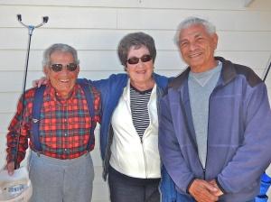 Pros (L - R) Felix, Edna and Tom