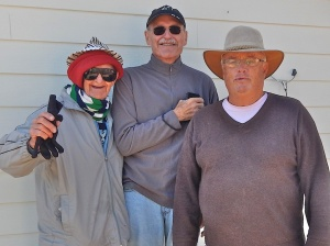 Amateurs (L - R) John, Randy and Wayne