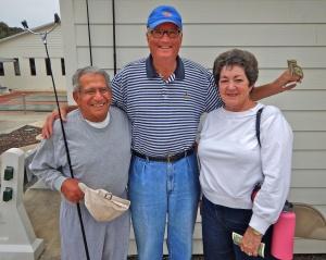Felix, Darrel and Edna, Pro winners