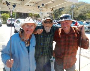 Pro Winners: John, Pete and Walt