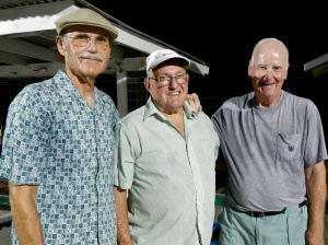Randy Radke, Gerry Bousquet and Bob Tager