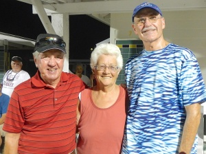 John Fortini, Mona Carkner and Randy Radke