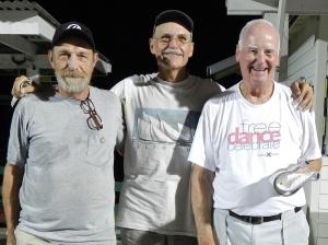 Tim Pergrem, Randy Radke and Bob Tager
