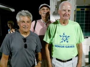 Jerry Jabaut, Randy Radke and Bob Tager