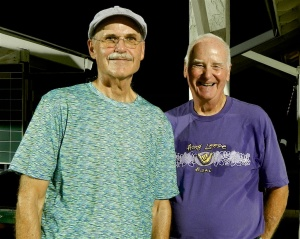 Randy Radke and Bob Tager