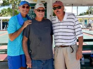 Randy Radke, Charlie Jones and Darrel Harman