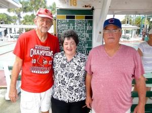 Guy Godman, Edna Triplett and Wayne Lockwood.
