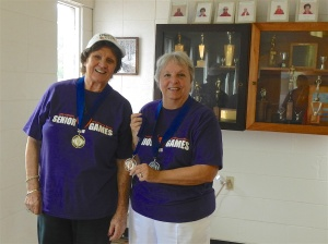 Johnnie Connor and Connie Bousquet, (Barb Fortini was absent)