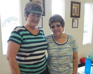 Edna Triplett and Dorine Bessette