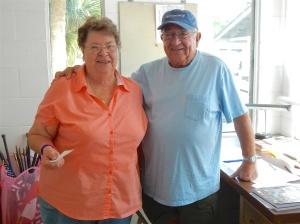 Carolyn and Rich Burrell